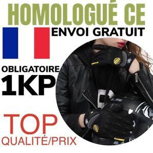 GANTS Moto TAILLE M BLACK HOMOLOGUE CE Scooter Quad TACTILE VENDEUR FR NEUF