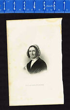 1881 Presidential First Lady Abigail Fillmore Engraving