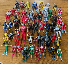Power Rangers Collection! Lot Of 48 Figures, Vintage To New!!! (Read Desc!!)