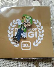Year of Luigi 30th Aniiversary Nintendo Promotional Button Pin Back Promo NEW!