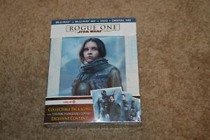 Rogue One - A Star Wars Story 3D / Blu-Ray / DVD / Digital NEW Target Exclusive