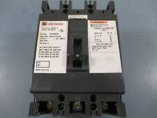Cutler-Hammer HFB3020L 20AMP 3 Pole 600 VAC Circuit Breaker - Used