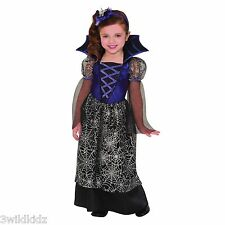 Miss Wicked Web Halloween Fancy Dress Spider Costume - Toddler 3-4
