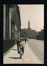 Scotland Midlothian EDINBURGH Calton Hill c1950s? RP PPC