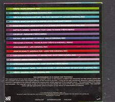 TIESTO Clublife Volume Two Miami 16 track PROMO CD Coldplay Goyte Afrojack