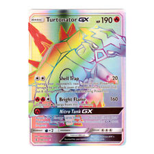 Turtonator GX SECRET Rare Holo SM Guardians Rising 148/145 (Proxy | Flash Card)