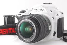 Pentax K-30 White + SMC Pentax-DA f/3.5-5.6 18-55mm AL #1924402
