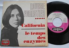 * LOUISE FORESTIER California VG++ PSYCH FRANCE ORIG 1970 P/S Charlebois QUEBEC