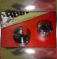 3 BOBBIN CASES FOR INDUSTRIAL SEWING MACHINES-BROTHER JUKI SINGER TOYOTA WIMSEW+