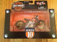 Maisto Harley-Davidson 1936 EL KNUCKLEHEAD 1:18 Die-Cast Motorcycle SERIES10 NEW