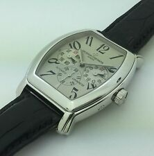18K White Gold Vacheron Constantine Malte Royal Eagle Day Date Automatic Watch