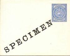 ANTIGUA 1903 2½d ENVELOPE OVPT SPECIMEN H & G B1