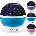 Projector Night Light LED Star Master Sky Lamp Romantic Cosmos Rotating Gift