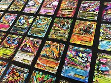 POKEMON TCG 50 Card Lot GUARANTEED GX, V, EX + 1 NEW BOOSTER PACK, RARES & HOLOS