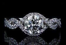 Sehr gute solitäre Diamanten Ringe mit SI2 Reinheit