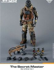 """Devils Toy 1/6 Scale 12"""" War of Order The Secret Master Limited Edition Figure"""