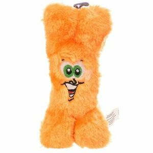 """LM Spot Spotbites Plush Bone Dog Toy with Embroidered Face 8.5"""" Long"""