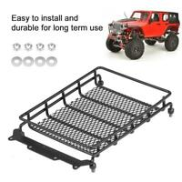 Metal Luggage Carrier Tray Roof Rack Kit for 1/10 RC Crawler Car Truck Vehicle
