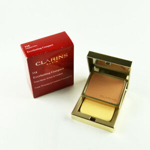 Clarins Everlasting Compact Long-Wearing & Comfort Foundation #114 Cappuccino