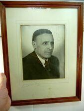 Signed Photo of Opera Tenor Benardo De Muro to Albert Hurst Lane