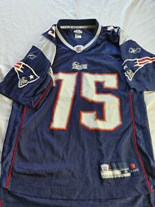 NEW ENGLAND PATRIOTS JERSEY VINCE WILFORK Men's Small