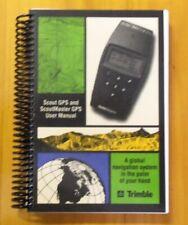 TRIMBLE Navigator GPS. Rarissimo Manuale Istruzioni