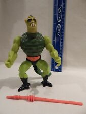 He-Man MOTU Masters / Universe WHIPLASH Loose Complete Firm Legs Stands Holds