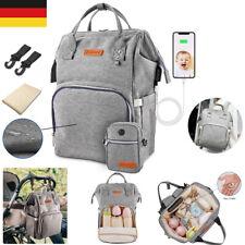 Wickelrucksack Wickeltasche Wasserresistent Windel Baby Tasche Rucksack 2x Haken