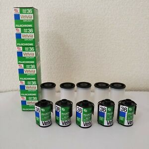 Lot 11 Rolls Fujichrome Velvia Color 36pcs Expired RVP135 36pcs 24x36mm