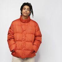 Carhartt piumino uomo Deming jacket  brick orange vera piuma d'oca