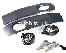 VW T5 Transporter 09 10 11 12 14 Facelift LED Nebelscheinwerfer + HB4 & Gitter