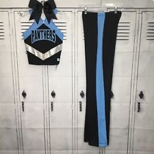 Cheerleading Uniform Carolina Panthers Adult XS