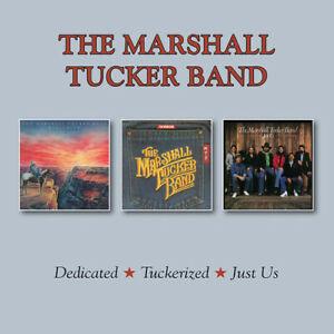 MARSHALL TUCKER BAND - DEDICATED / TUCKERIZED / JUST US (2 CD) NEW CD