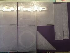 Tattered Lace Embossing Folders X 8