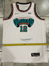 New XL Ja Morant 12 Memphis Grizzlies White Throwback Basketball Jersey Retro US