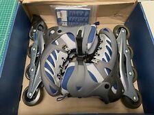 Salomon X-Trainer Rollerblades Navy/Gray Women Sz 9