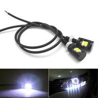 2pcs White LED SMD Motorcycle&Car License Plate Screw Bolt Light lamp bulb