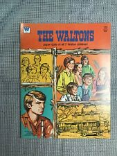 Vintage Whitman The Waltons Paper Dolls Set Brand New Mint Uncut Awesome !