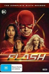 THE FLASH Complete Sixth Season 6 DVD BRAND NEW AND SEALED Region 4!
