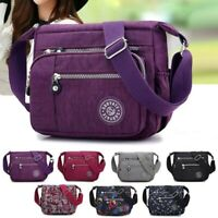 Women Multi Pocket Messenger Cross Body Handbag Ladies Hobo Bags Shoulder Bag