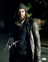 TOM PAYNE Signed JESUS 11x14 Photo IN PERSON Autograph WALKING DEAD JSA COA Cert