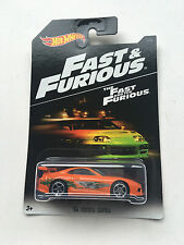 2016 HOT WHEELS FAST AND FURIOUS 7 94 TOYOTA SUPRA NEW
