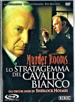 LO STRATAGEMMA DEL CAVALLO BIANCO - MURDER ROOMS DVD NUOVO INCELLOFANATO