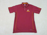 Majestic Washington Redskins Shirt Adult Large Red Yellow NFL Football Mens
