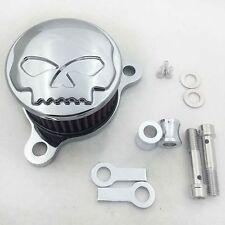 Air Cleaner Intake Filter System Kit For Harley Sportster XL883 88-15 Chromed