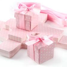 Carta da regalo e accessori rosa per battesimo