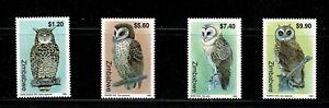 W0085 ZIMBABWE 1999  Owls   MNH