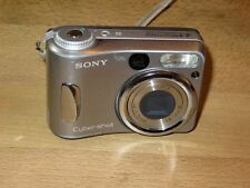 Sony Cyber-shot DSC-S60 4.1 MP - Digital Fotocamera - Argentato