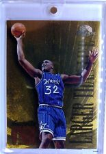 1995 95-96 SkyBox Larger Than Life Shaquille O'Neal #L7, Insert, Magic, HOF