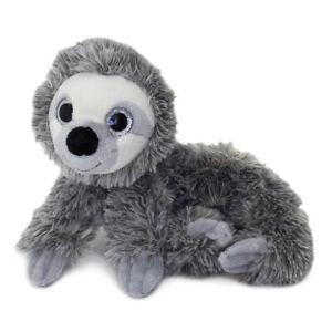Cute Soft Plush Fluffy Zipper Sloth Animal Girls Boys Kids School Pencil Case